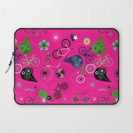 Cycledelic Pink Laptop Sleeve