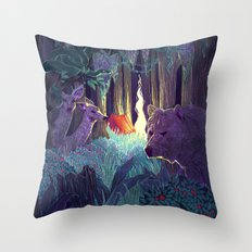 Staying Alive Throw Pillow