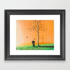 I remember us Framed Art Print