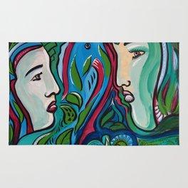 Art by Armando Renteria Organically Driven Rug