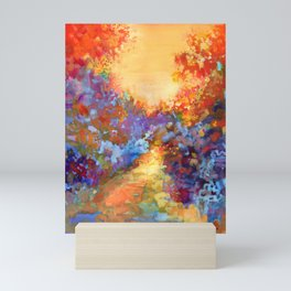 Late Afternoon Autumn Sun Mini Art Print