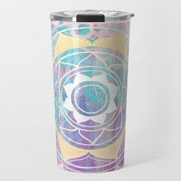 Mixed Media Mandala - Journey Travel Mug
