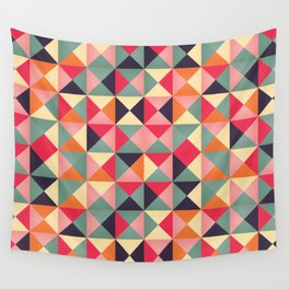 Triangles 007 Wall Tapestry