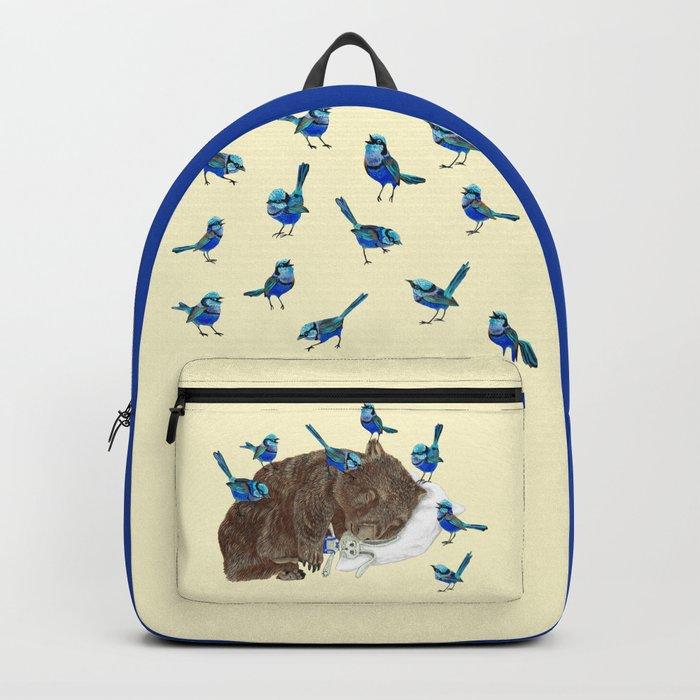 Wrens Wombat sleep Backpack