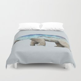 The Arctic Polar Bear Duvet Cover