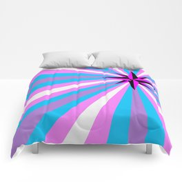 Queer Trans Anarchy Flag Comforters