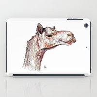 camel iPad Cases featuring Camel by Ursula Rodgers
