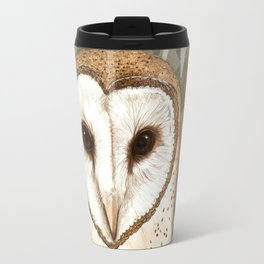The Barn Owl Journal Travel Mug