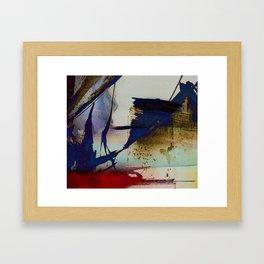 abstract marine Framed Art Print