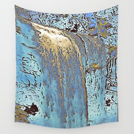 "series waterfall ""Cachoeira Grande"" III Wall Tapestry"