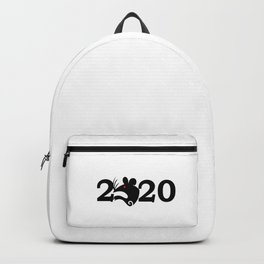 2020 Year Of The Rat Gift Design Backpack