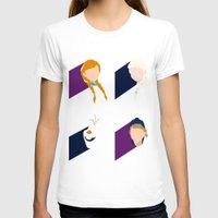 frozen T-shirts featuring Frozen by laurenschroer