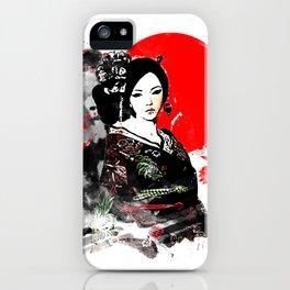 Kyoto Geisha Japan iPhone Case