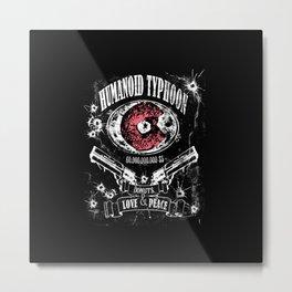 Humanoid Typhoon Metal Print
