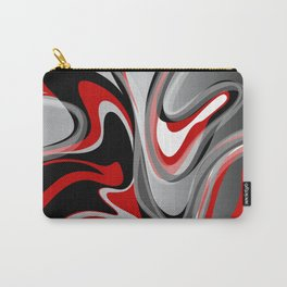 Liquify - Red, Gray, Black, White Carry-All Pouch