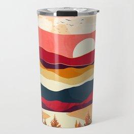 Scarlet Spring Travel Mug