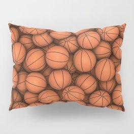 Basketballs Pillow Sham