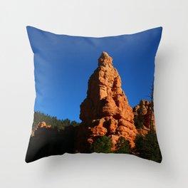 Red Rock Canyon Rockformation Throw Pillow
