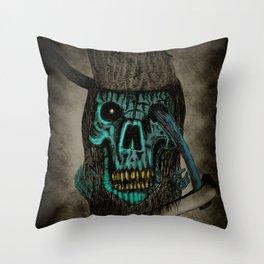 Kill The Corrupt (Portrait Version) Throw Pillow