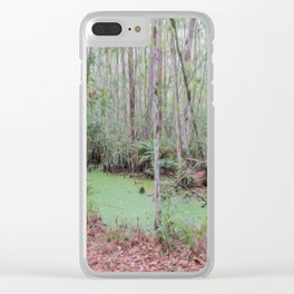Submerge Your Worries Clear iPhone Case