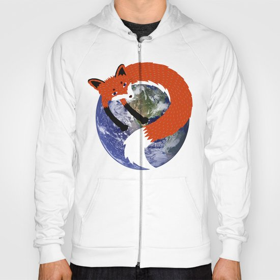Fox in the Universe Hoody