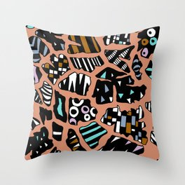 Bedazzled Giraffe Throw Pillow