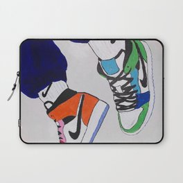 Sneaker Colorful Air Jordan 1's Laptop Sleeve