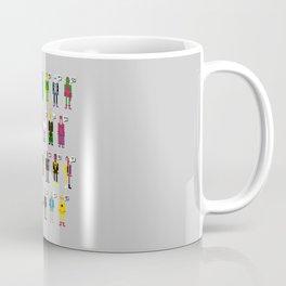 Pixel Supervillain Alphabet Coffee Mug