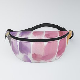 63 | 190330 Watercolour Abstract Brush Strokes Fanny Pack