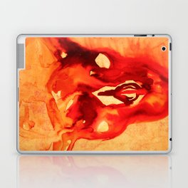 Bloody goat skull Laptop & iPad Skin