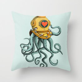 I'm falling in love with you? (right) Throw Pillow