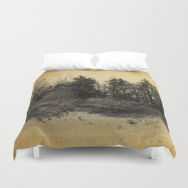 old landscape Duvet Cover
