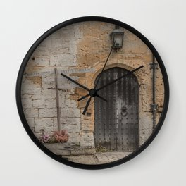 castle door... Wall Clock