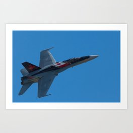 RCAF CF-18 Art Print