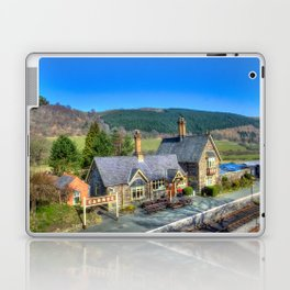 Carrog Railway Station Laptop & iPad Skin