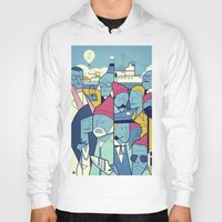 steve zissou Hoodies featuring The Life Acquatic with Steve Zissou by Ale Giorgini