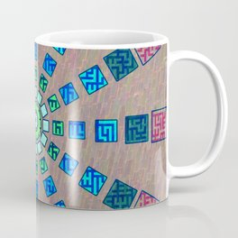 Ethnic wheel Coffee Mug