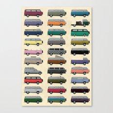 Camper Van Canvas Print