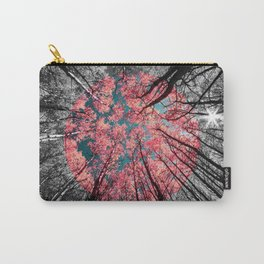 Blessed Glance Upward Pop of Color Carry-All Pouch