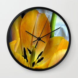 Open Wide Wall Clock