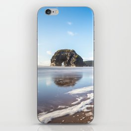 Nun's Beach Reflections iPhone Skin