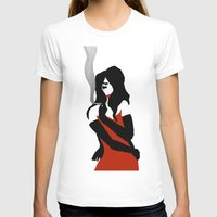 noir T-shirts featuring Noir by Dvasiia Art