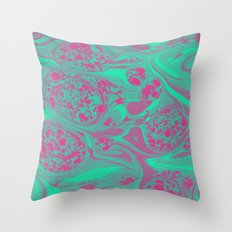 Marble Space Throw Pillow