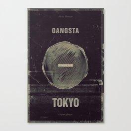 Gangsta Tokyo Canvas Print