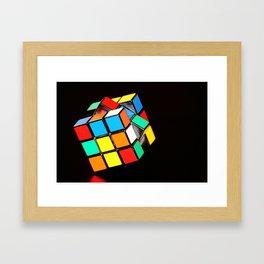 Cubic Cube Framed Art Print