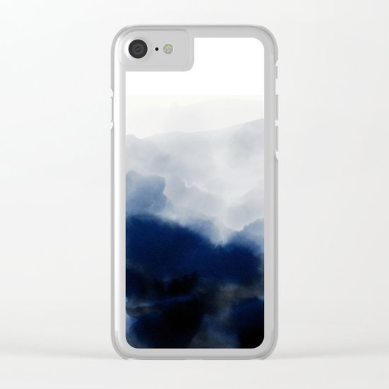 Boundary Clear iPhone Case