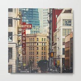 The Walls of San Francisco Metal Print