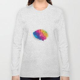 Geometric brain Long Sleeve T-shirt