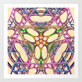 Trinity Wormhole Art Print