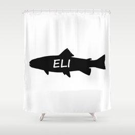 Eli Fish Shower Curtain